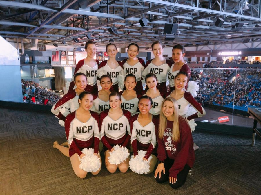 Northside%27s+Poms+team+at+the+state+competition.+