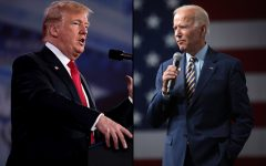 President Donald Trump and former Vice President Joe Biden (Creative Commons)