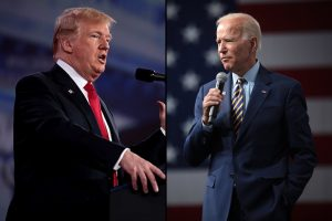 President Donald Trump and former Vice President Joe Biden (Creative Commons)